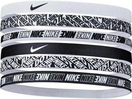 Čelenka Nike Printed Headbands 6 pack
