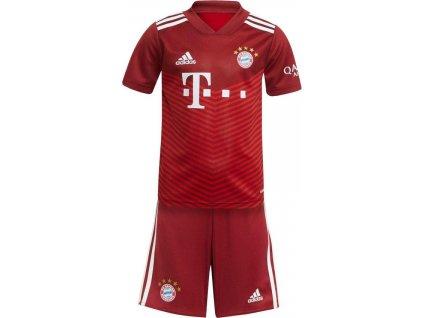 Komplet pro malé děti adidas FC Bayern Mnichov Mini 2021/22 domácí