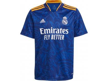 Dětský dres adidas Real Madrid CF 2021/22 venkovní