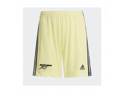 adidas kids arsenal fc 21 22 away shorts pearl citrine p26908 80266 image