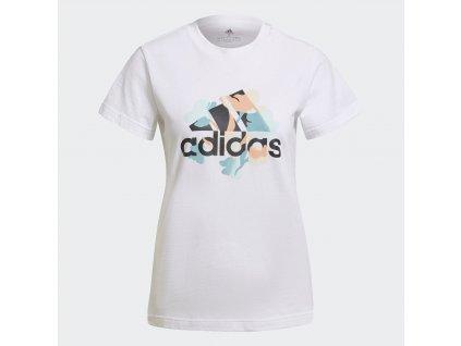 Dámské triko adidas FLORAL GFX
