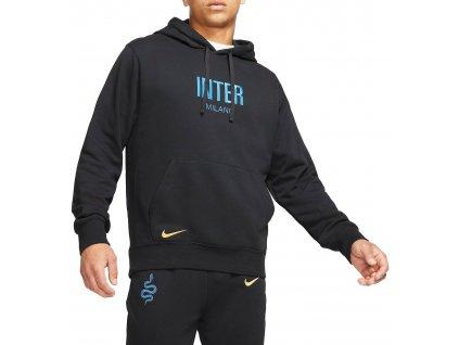 Pánská mikina s kapucí Nike Inter Milan