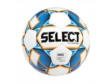 Select Fotbalový míč FB Diamond bílo modrá 3 (Velikost 5)
