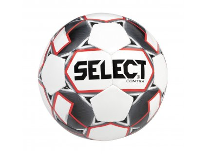 Select Fotbalový míč FB Contra bílo červená 4 (Velikost 4)