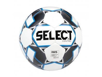 Select Fotbalový míč FB Contra bílo modrá 5 (Velikost 5)