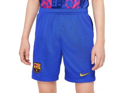 Dětské trenky Nike FC Barcelona 2021/22 Stadium venkovní 3rd