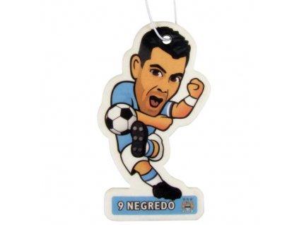 Vůně do auta Manchester City FC Negredo