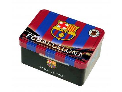 Čokoládové pralinky v kovové krabičce FC Barcelona 125g