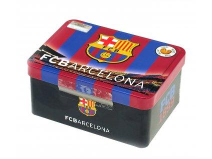 Sušenky v kovové krabičce FC Barcelona 125g