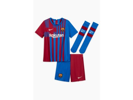 Komplet pro malé děti Nike FC Barcelona Stadium 2021/22 domácí