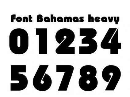 Potisky na sady dresů BAHAMAS 2-16