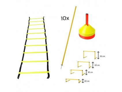 Akční set tréninkových pomůcek I (Velikost Univerzální)