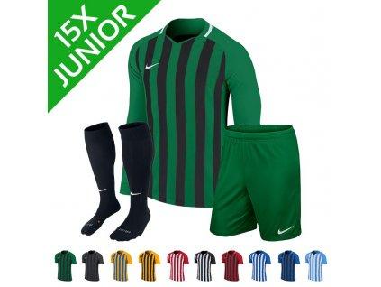 Dětská sada dresů Nike Striped Division III dl.r. (15 ks)