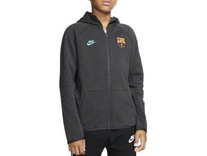 Dětská bunda Nike FC Barcelona Fleece