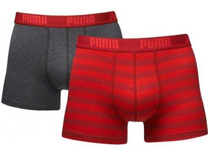 Boxerky Puma Stripe 2 Pack
