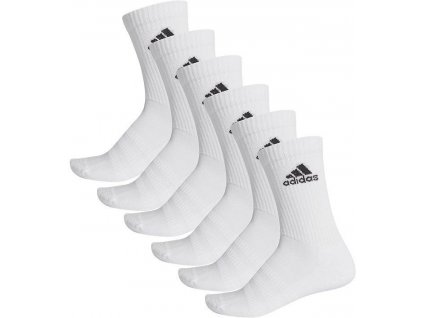 Ponožky adidas Cushioned Crew 6 Pack