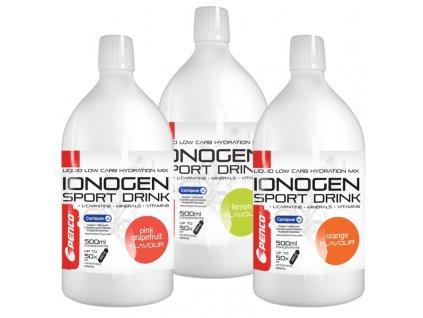 Iontový nápoj Penco IONOGEN 500ml Růžový grep (Počet tablet/porcí 50)