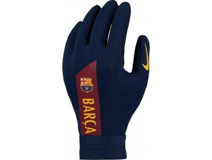 Dětské hráčské rukavice Nike HyperWarm FC Barcelona Academy