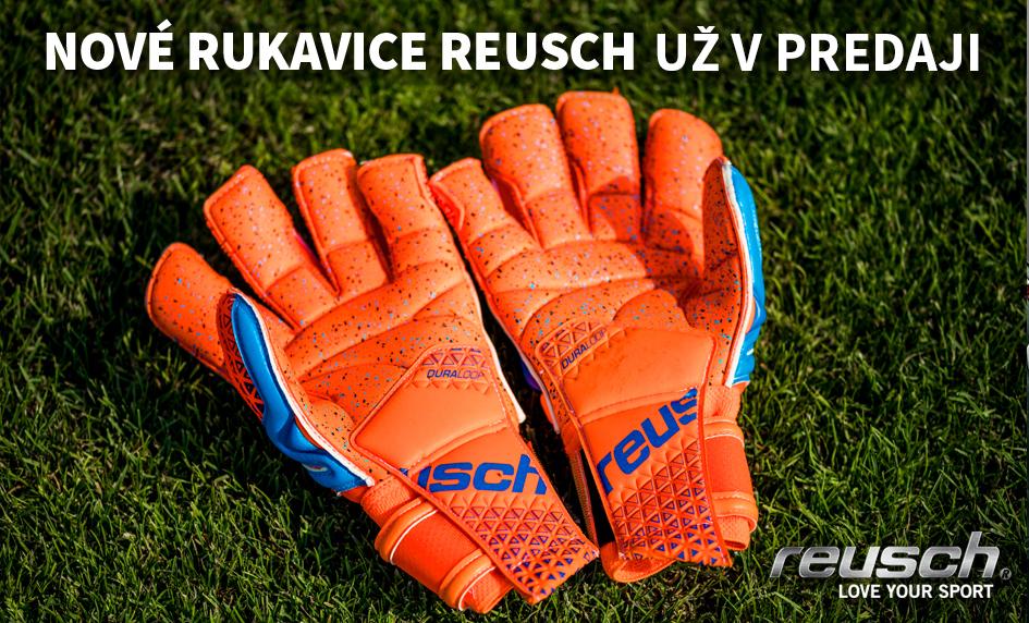 Nové brankárske rukavice Reusch