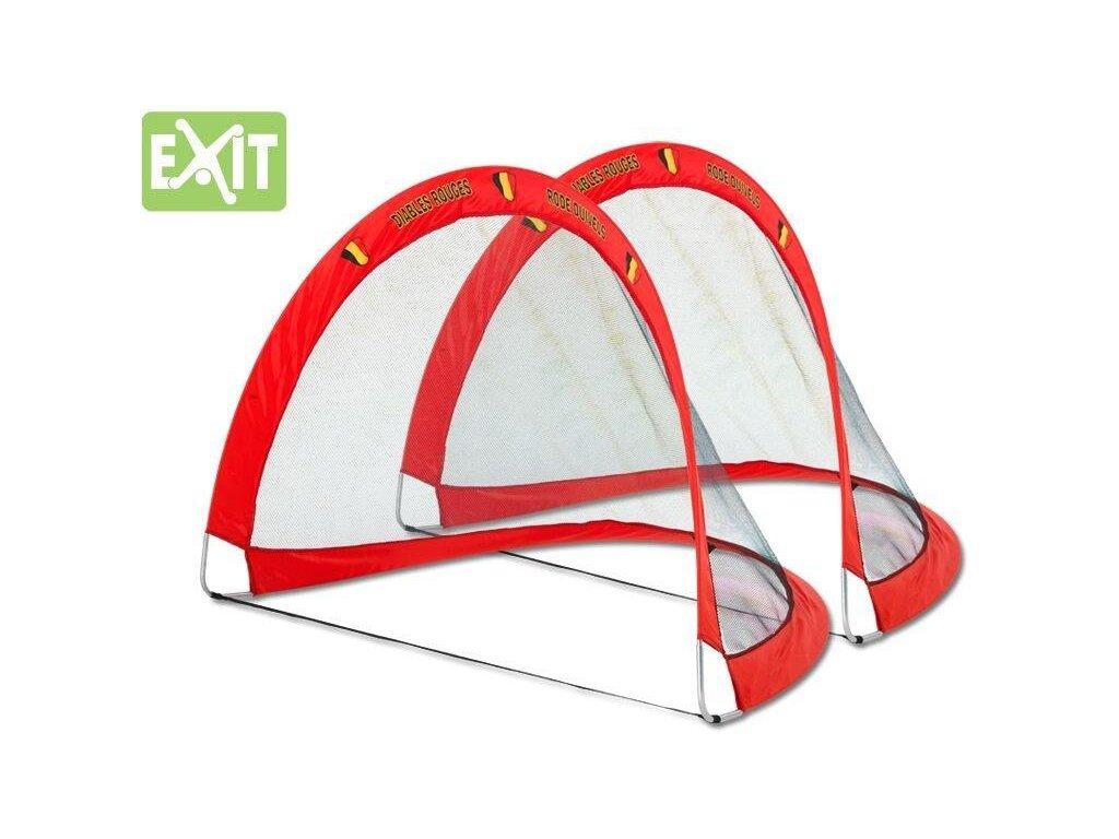 Fotbalová branka Exit Flexx Goal Belgium - 2 ks (set) (Rozměr 127 cm x 86 cm x 90 cm)