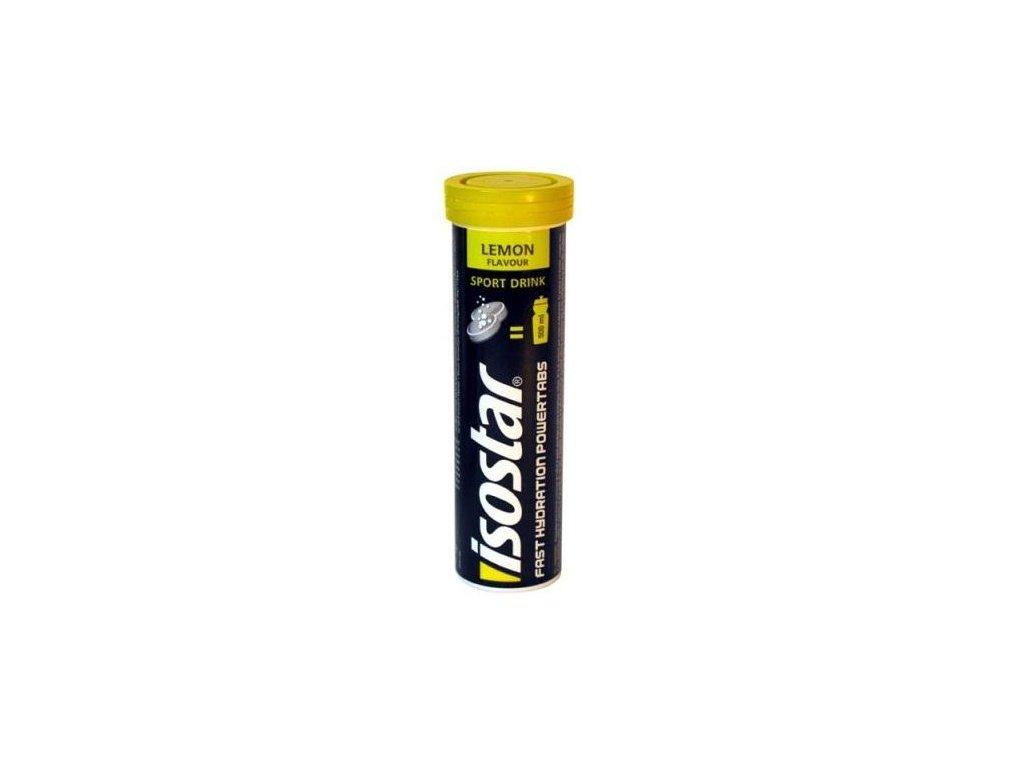 Iontový nápoj Isostar Power Tabs 10 tablet Citron (Příchuti Citron)