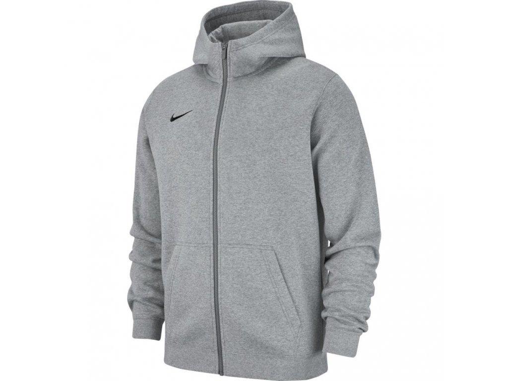 Detská mikina Nike Team Club 19 Full-Zip Hoodie (Textil NIKE Junior XS)