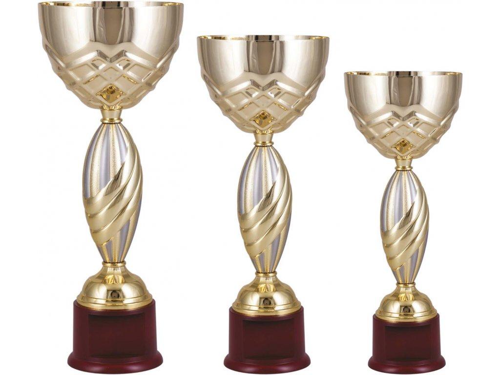 Sada pohárov Standard IV (BARVA Zlatá-Stříbrná)