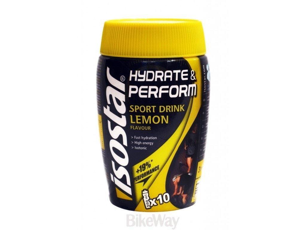 Iontový nápoj Isostar Hydrate & Perform 400g Citron (Příchuti Citron)