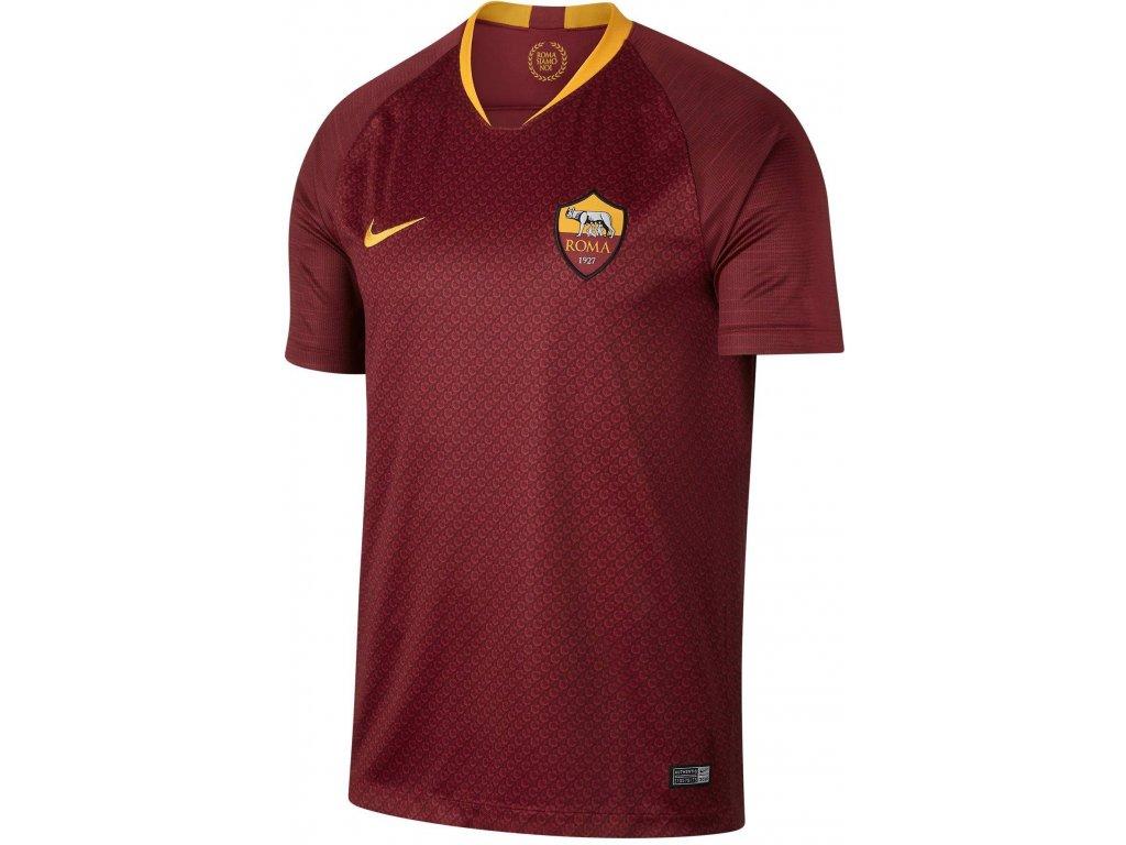 Dres Nike AS Roma 2018/19 domácí (Textil NIKE XXL)
