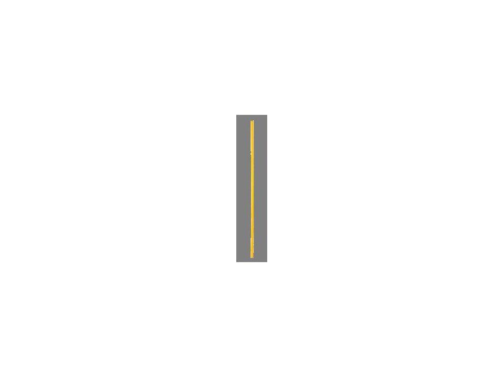 Futbalová tyč priemer 25 mm, dĺžka 1 000 mm (BARVA Žlutá)