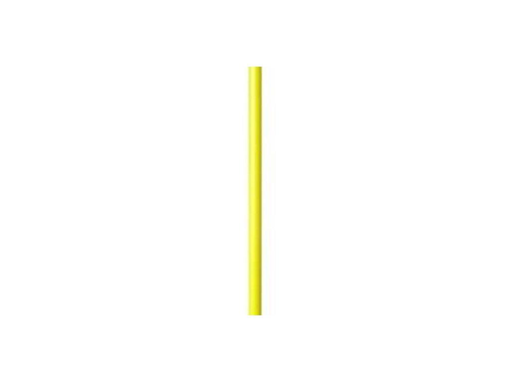 Rohová (slalomová) tyč nedelená s protiúrazové úpravou 30 mm (BARVA Žlutá)
