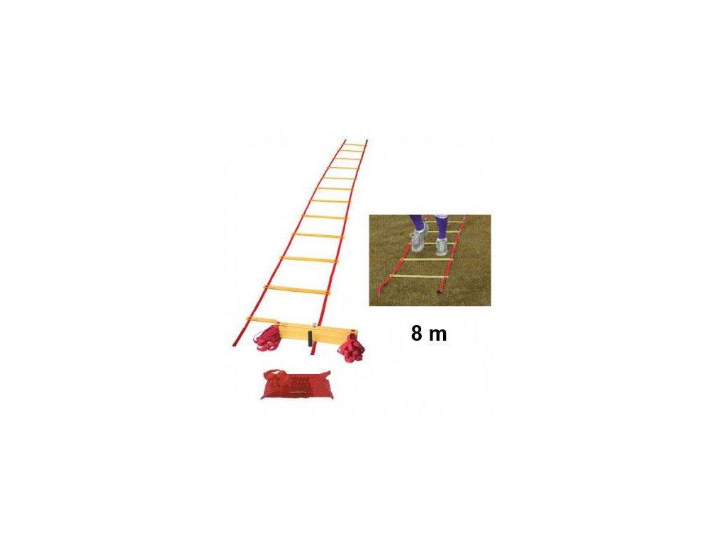 Koordinačné rebrík 8m (BARVA Červená-Žlutá)