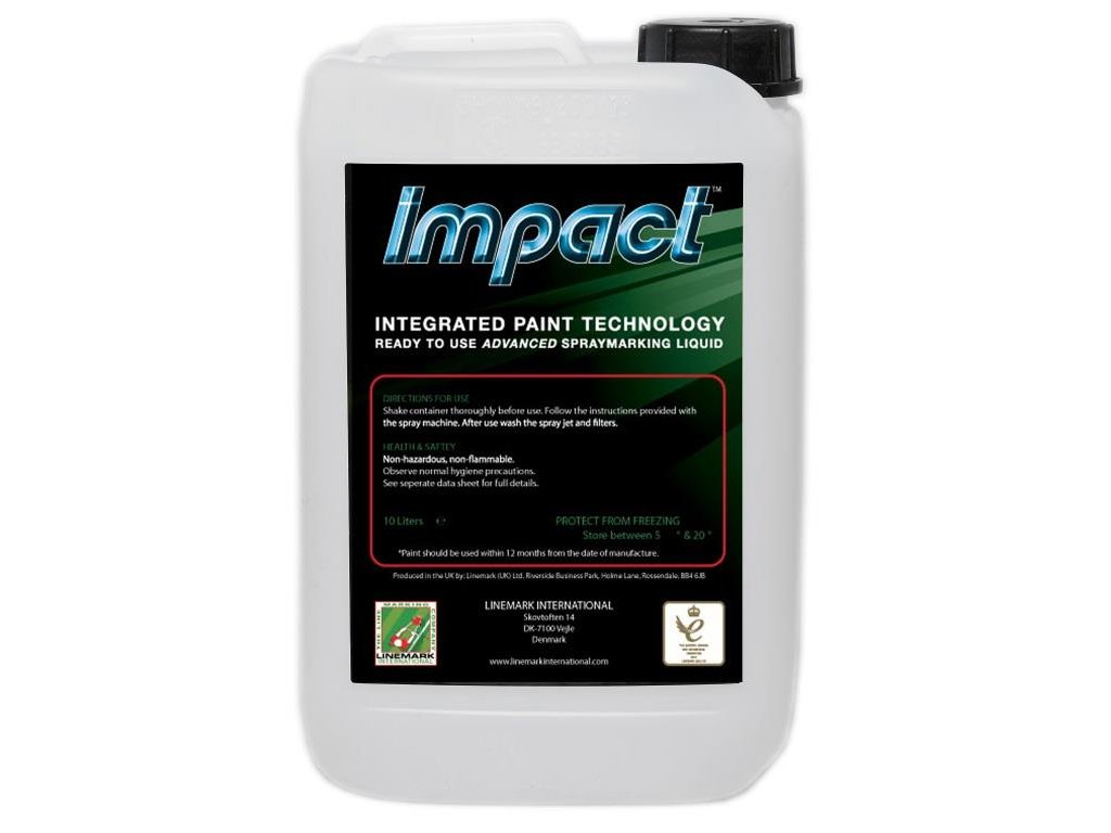 Lajnovací farba Impact (10 litrov) (Objem 10 Litrů)