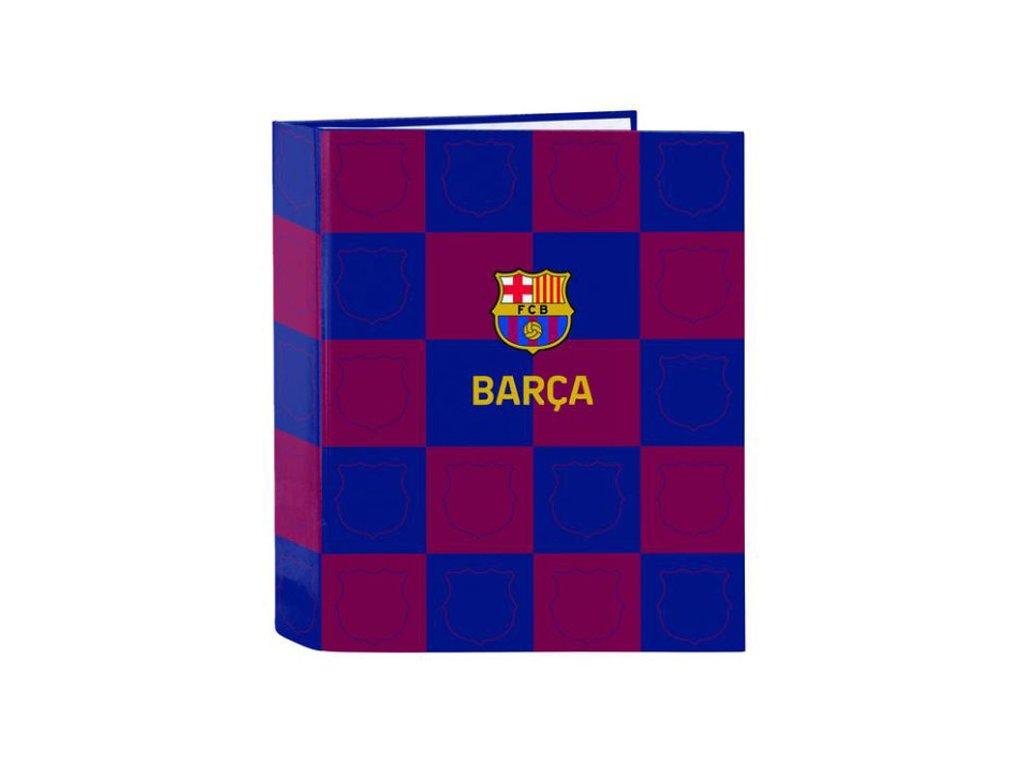 76088 a4 krouzkovy poradac fc barcelona vzor 11929 sezona 2020 33 x 27 x 6 cm