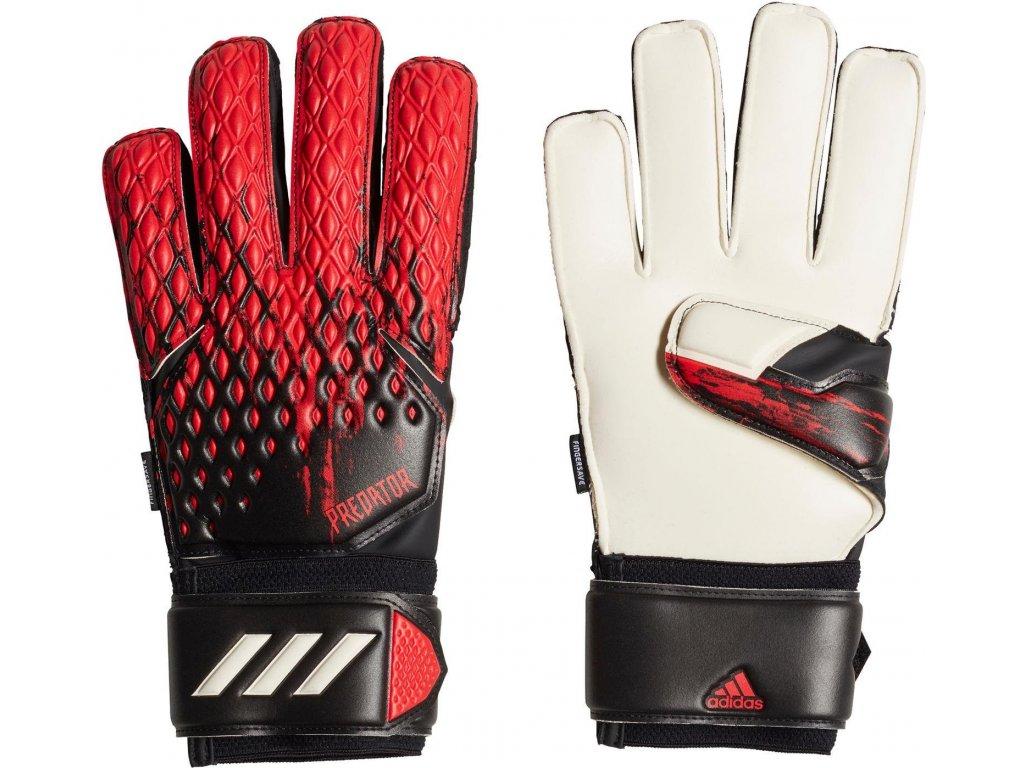 Brankárske rukavice adidas Predator 20 Match Fingersave (Velikost 10)