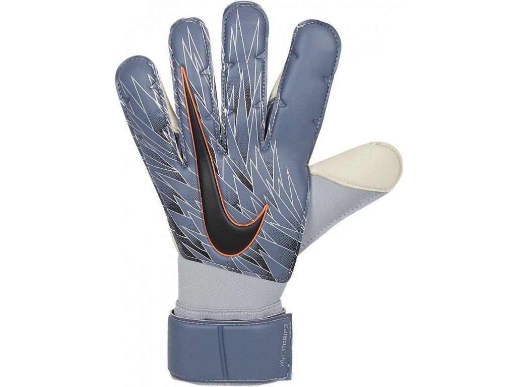 Brankárske rukavice Nike Vapor Grip 3 (Velikost 10, BARVA šedá)