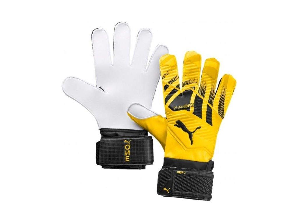 Brankárske rukavice Puma One Grip 3 RC (Velikost 10)