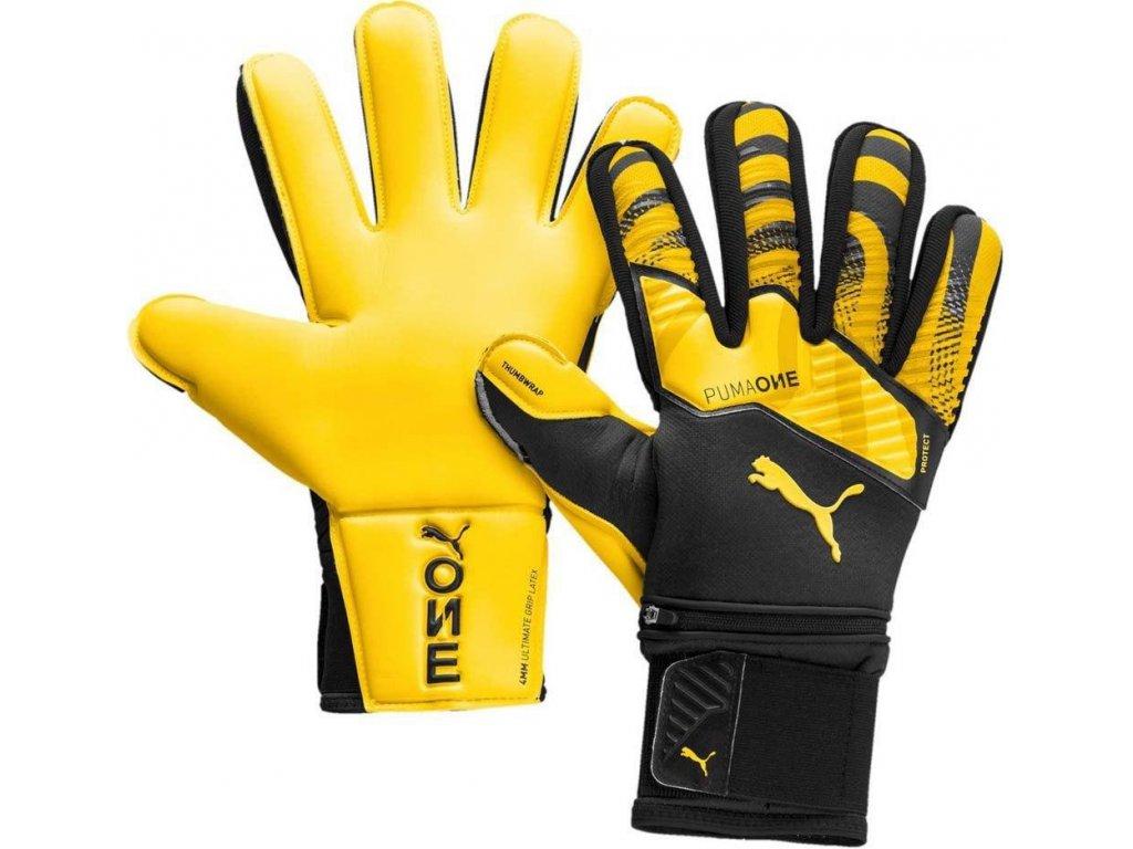 TRANS:Brankárske rukavice Puma One Protect 1 RC (Velikost 10)