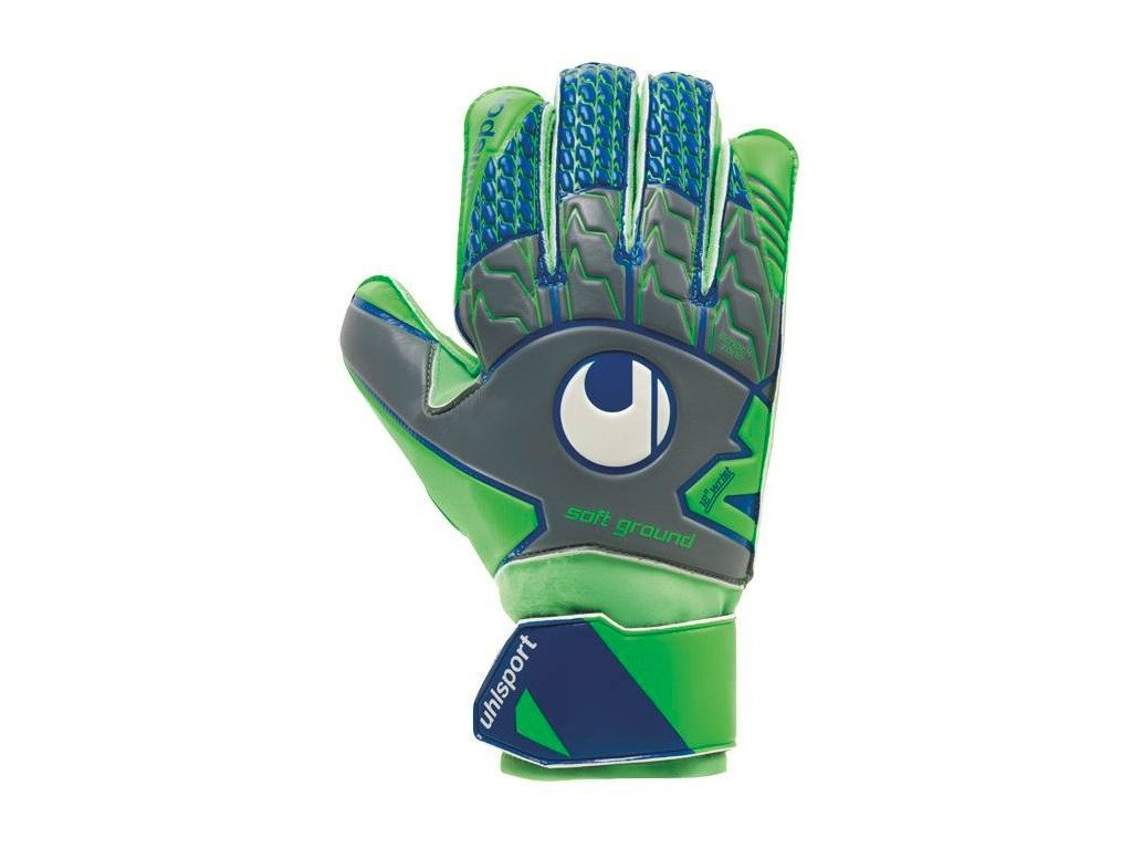 Brankárske rukavice Uhlsport TENSIONGREEN SOFT PRO (Velikost 11, BARVA Zelená)