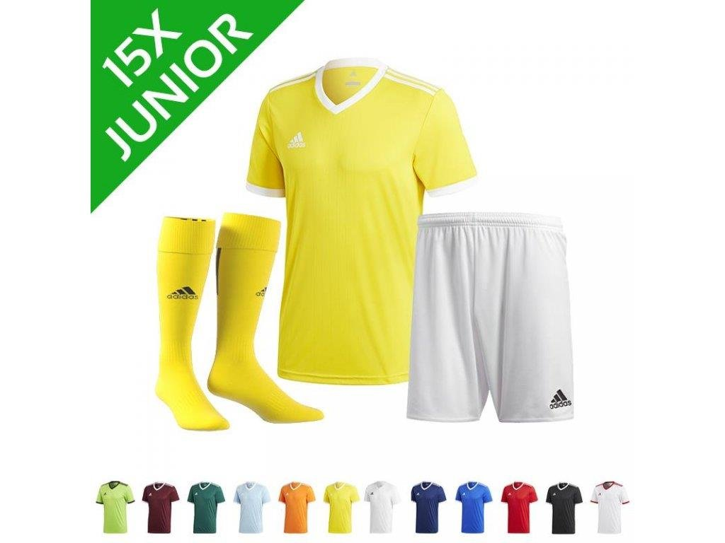 Dětská sada dresů adidas Tabela 18 (15 ks) (Textil ADIDAS Junior 164 cm)