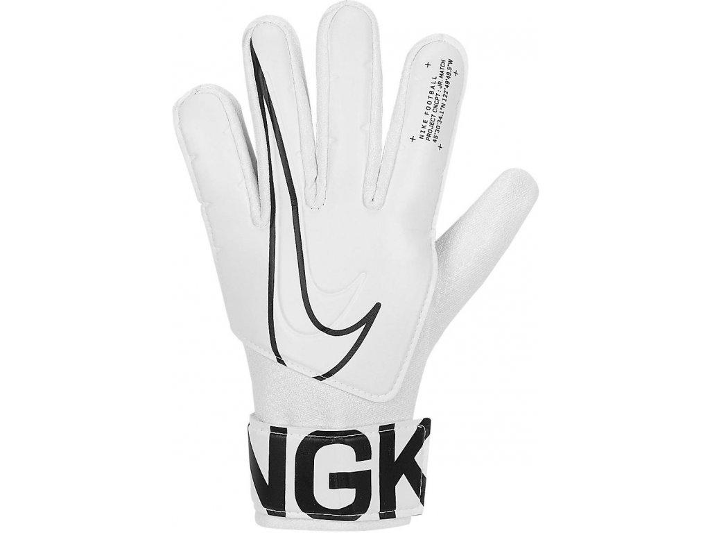 Detské brankárske rukavice Nike Match (Velikost 3)