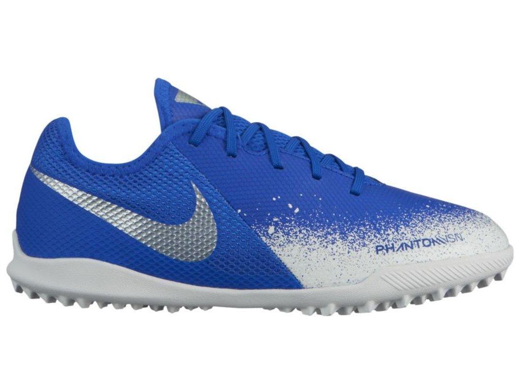 Detské kopačky Nike Phantom Vision Academy TF (Velikost 36,5 EU, BARVA Modrá, Požadované vlastnosti dětské)