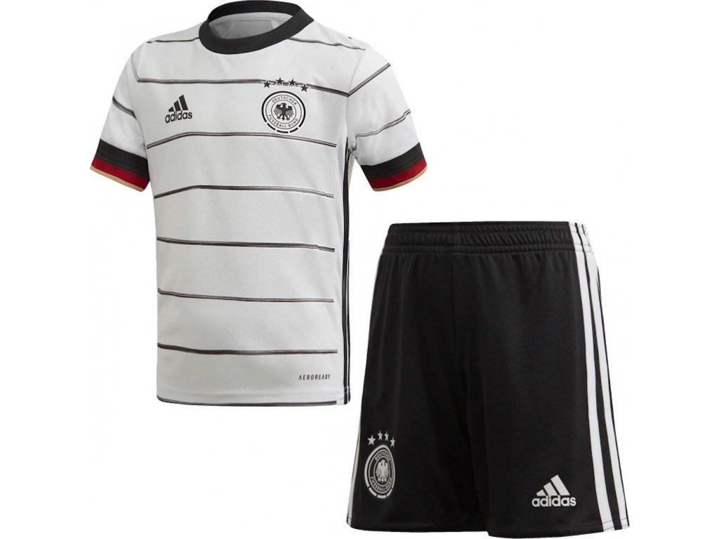 Detský komplet adidas Germany 2020/21 domáce (Velikost 104)