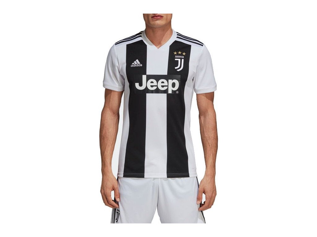 Dres adidas Juventus FC 2018/19 domácí (Velikost S, BARVA Bílá, Délka rukávu bez rukávu)