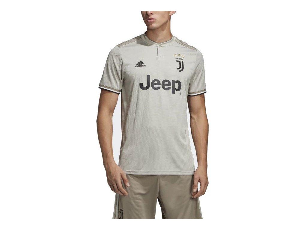 Dres adidas Juventus FC 2018/19 venkovní (Velikost M, BARVA šedá, Délka rukávu bez rukávu)