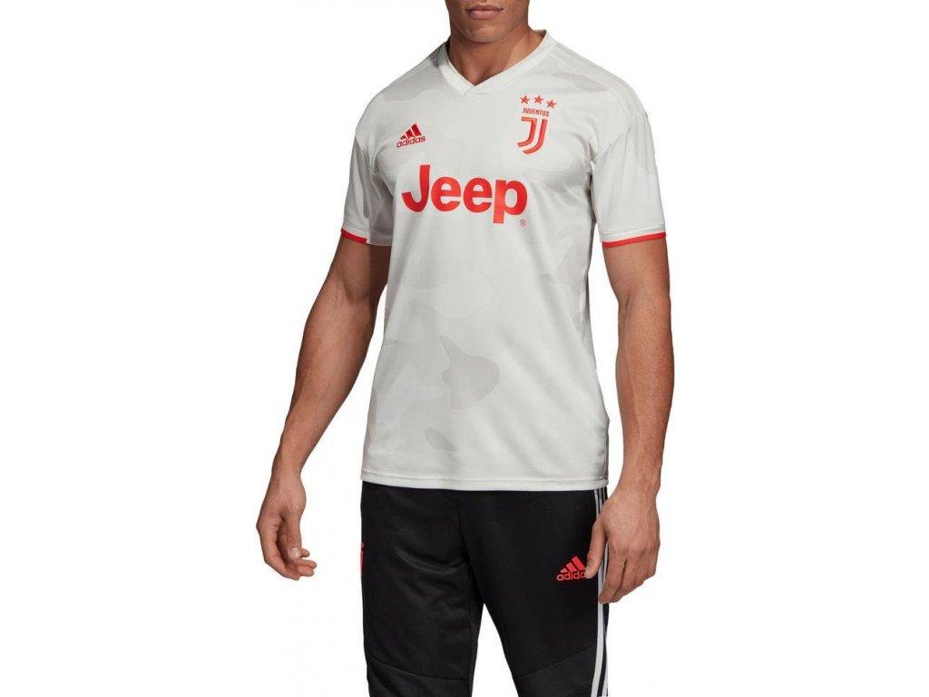Dres adidas Juventus FC 2019/20 venkoní (Velikost 2XL, BARVA šedá, Délka rukávu bez rukávu)