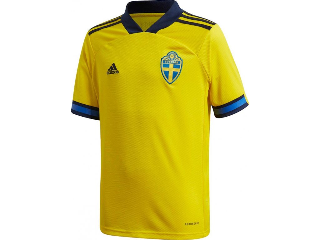 Detský dres adidas Sweden 2020/21 domáce (Velikost 128)