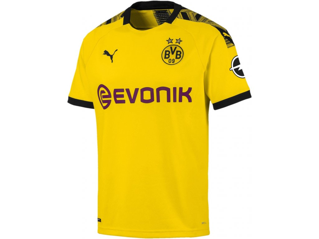 Dres Puma Borussia Dortmund 2019/20 domácí (Velikost L, BARVA Žlutá, Délka rukávu bez rukávu)