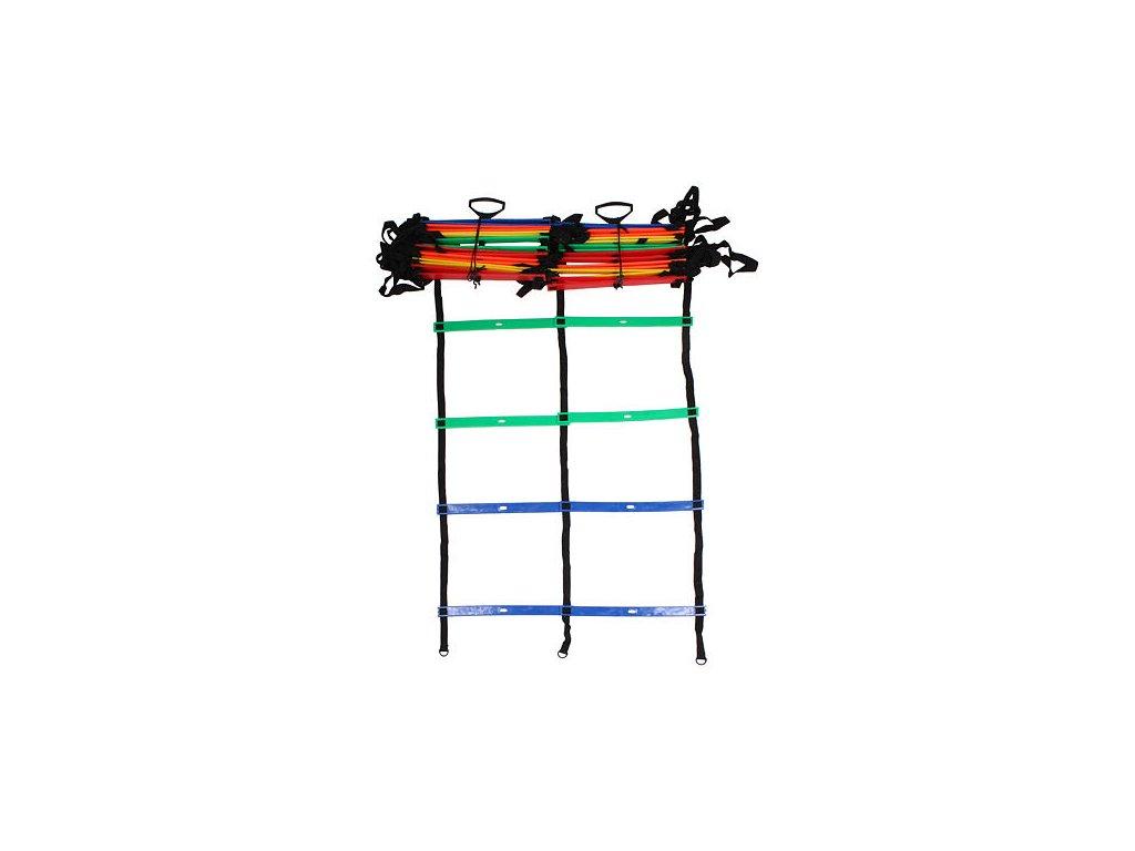 Agility rebrík Merco MultiColour Dual (délka 9 m)