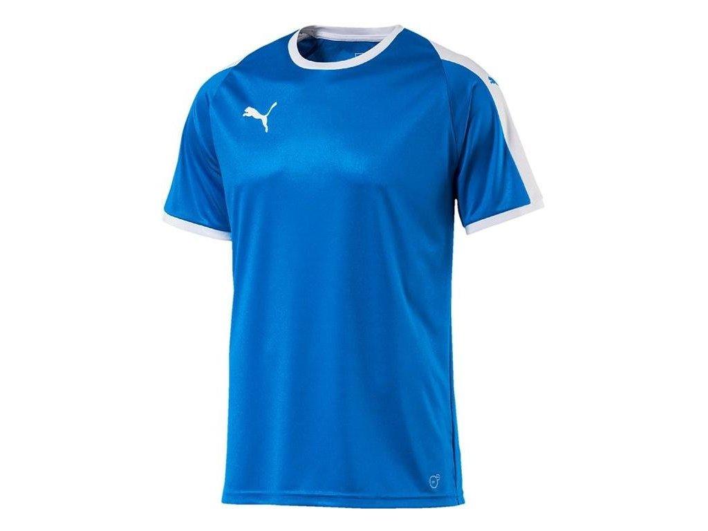 Dětský dres Puma Liga (Velikost 116, BARVA Modrá, Délka rukávu bez rukávu)